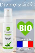 Les cosmetiques erotiques 100% bio, 100% fabrication francaise