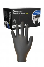 100 gants médicaux en Nitrile noir - Boite de 100 gants fins de qualité médicale en nitrile, sans latex, compatible avec la plupart des lubrifiants.