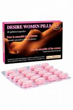 Desire Women Pills  (20 gélules) - Pour stimuler le désir et exalter le plaisir chez la femme. Formule naturelle de nouvelle génération.