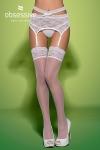 Swanita stockings white