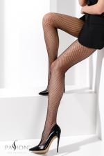 Collants résille TI020 Noir - Collants sexy résille.