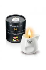 Bougie de massage - Cosmopolitan - Bougie érotique se transformant en huile de massage sensuelle au goût du célèbre cocktail Cosmopolitan.