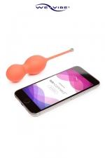 Boules de Geisha Vibrantes Connectées Bloom - Pour muscler le vagin et le plaisir, des boules de Geisha vibrantes contrôlées depuis votre smartphone !