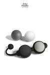 Coffret boules Kegel - Fifty Shades of Grey - Un coffret de boules de geisha comprenant 4 boules silicone à poids pour la tonicité intime et le plaisir sexuel.