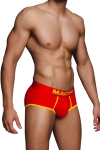 Shorty rouge MS089 - Macho - Shorty rouge et jaune ultra sexy signé de la marque Espagnole pour hommes : Macho Lingerie.