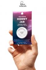 Baume clitoridien parfum Bois de sental - Horny Jar est un baume parfumé au bois de sental pour le clitoris imaginé par Bijoux Indiscrets.