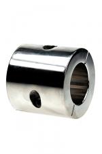 Ball stretcher acier - 56 mm - Avec un cylindre de 56 mm de haut pour un poids de 801 g, infligez une tension extrême à vos testicules.