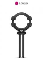 Anneau ajustable Fit ring - Dorcel - Anneau 100% ajustable en silicone pour le pénis et les testicules, pour améliorer la qualité et la durée de l'érection.