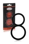Ballring 8 Ring - Malesation - double cockring en silicone haute qualité, pour enserrer le pénis et les testicules et sublimer vos érections.