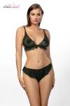 Ensemble 2 pièces Vanilla - Ensemble de lingerie soutien-gorge bralette et culotte en tulle noir de la marque Anaïs.