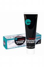 Crème de pénis Long Power Marathon Cream - Ero - Crème retardante pour homme, pour des rapports sexuels qui durent plus longtemps.