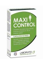 60 gélules retardantes Maxi Control - Complément alimentaire permettant de retarder l'éjaculation et de maintenir de bonnes relations sexuelles.