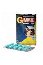 G-Max Power Caps Homme (10 gélules) - Une érection plus vigoureuse qui dure plus longtemps? G-MAX est le complément alimentaire aphrodisiaque pour hommes n1 en France.