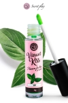 Brillant à lèvres stimulant - menthe - Gloss stimulant goût menthe qui fait ressentir de nouvelles sensations aux deux partenaires lors de baisers ou fellations.