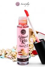 Brillant à lèvres stimulant - popcorn - Gloss stimulant goût popcorn qui fait ressentir de nouvelles sensations aux deux partenaires lors de baisers ou fellations.