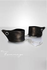 Menottes Manchettes - Faire Hommage - Un luxueux accessoire à porter comme menottes fantaisie ou comme bracelets de poignets.