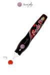 Stylo comestible Fraise - Un stylo saveur fraise fabriqué par la marque espagnole Secret Play pour vos jeux érotiques.
