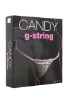 String Bonbon femme - Avec le Candy G string, consommez le string de votre partenaire sans modération!
