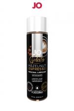 Lubrifiant aromatisé Café à la noisette - 120ml - Lubrifiant aromatisé comestible parfum café à la noisette au format 120 ml de la marque Américaine System Jo.