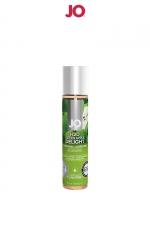Lubrifiant aromatisé pomme 30 ml - Lubrifiant aromatisé comestible parfum pomme au format 30 ml de la marque Américaine System Jo.