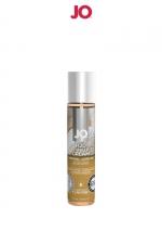 Lubrifiant aromatisé vanille 30 ml - Lubrifiant aromatisé comestible parfum vanille au format 30 ml de la marque Américaine System Jo.