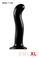 Dildo point P et G taille XL - Strap On Me - Gode 100% silicone hommes et femmes, taille XL, conçu pour stimuler le point G ou le point P, compatible harnais Strap-On-Me.