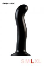 Dildo point P et G taille L - Strap On Me - Gode 100% silicone hommes et femmes, taille L, conçu pour stimuler le point G ou le point P, compatible harnais Strap-On-Me.