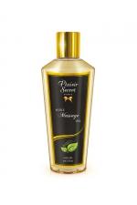 Huile de massage sèche nature - Huile de massage sèche sans parfum pour des massages aussi relaxants que bons pour le corps.