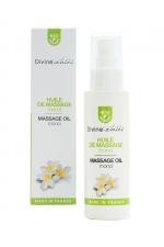 Huile de massage BIO Monoi - Divinextases - Huile de massage érotique parfum monoï 100% bio, fabriquée en France par Divinextases.