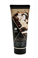 Crème de massage délectable chocolat enivrant -  Shunga - Le plus savoureux des massages avec la crème de massage comestible Shunga saveur chocolat enivrant.