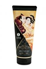 Crème de massage délectable douceur d'amande -  Shunga - Le plus savoureux des massages avec la crème de massage comestible Shunga saveur douceur d'amande.
