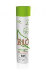 Huile de massage BIO amande amère - HOT - Huile de massage BIO et Végan au parfum érotique et raffiné amande amère, par HOT. Flacon de 100 ml.