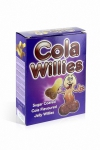 Bonbons zizi au cola - Cola Willies - 150 g de bonbons au gout Cola, des bonbons pour adultes en raison de leur forme de zizi.