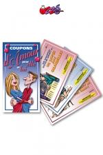 Coupons d'Amour - 5 coupons d'amour pour elle et 5 pour lui, pour offrir des faveurs coquines à votre partenaire.