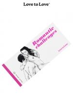 Chéquier Romantic Challenges - 20 Challenges à partager pour des moments très romantiques. Carnet dessiné par Apollonia Saintclair pour Love to Love.