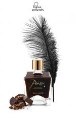 Peinture de corps Poême chocolat - Flacon de peinture corporelle comestible au parfum délicieux de chocolat, par Bijoux Indiscrets.