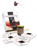 Coffret coquin Défis Chocolatés - Un jeu de préliminaires amoureux avec 30 défis coquins à base de chocolat haute qualité, à consommer sans modération !