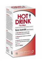 HOT DRINK Homme bois bandé 250 ml - Bois bandé aphrodisiaque pour homme permettant de stimuler le désir sexuel.