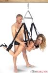 Balançoire Fétichiste Swing Strap - Balançoire érotique haute qualité hommes et femmes pour pratiquer des positions sexuelles jusqu'alors impossibles.