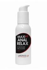 Gel Maxi anal relax - Gel anal relaxant à l'extrait d'huile de Girofle, compatible avec les préservatifs, avec effet anesthésiant et hydratant.