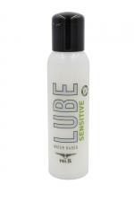 Lubrifiant Mister B Lube Sensitive 100 ml - Lubrifiant à base d'eau, Aloe Vera et vitamine E, spécial peaux sensibles qui répare et hydrate la peau, évite les irritations.