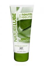 Lubrifiant Naturel Aloe Vera 100ml - HOT - Lubrifiant intime à base d'eau contenant de l'Aloe Vera et des produits naturels. Tube classique de 100 ml.