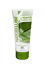 Lubrifiant Naturel Aloe Vera 30ml - HOT - Lubrifiant intime à base d'eau contenant de l'Aloe Vera et des produits naturels. Tube de voyage de 30 ml.