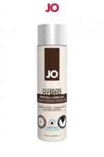 Lubrifiant hybride sans silicone effet frais 120 ml - A base d'eau et d'huile de noix de Coco, ce lubrifiant hybride effet frais est un Must Have de la marque System Joe.