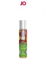 Lubrifiant aromatisé fruits exotiques 30 ml - Lubrifiant aromatisé comestible parfum fruits exotiques au format 30 ml de la marque Américaine System Jo.