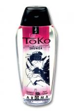 Lubrifiant Toko Aroma - vin pétillant et fraise - Lubrifiant intime à base d'eau, aromatisé vin pétillant et fraise, pouvant être léché, par Shunga, le spécialiste du plaisir intime.