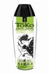 Lubrifiant Toko Aroma - poire et thé vert exotique - Lubrifiant intime à base d'eau, aromatisé poire et thé vert exotique, pouvant être léché, par Shunga, le spécialiste du plaisir intime.
