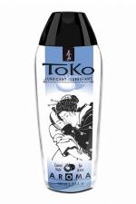 Lubrifiant Toko Aroma - eau de coco - Lubrifiant intime à base d'eau, aromatisé eau de coco, pouvant être léché, par Shunga, le spécialiste du plaisir intime.