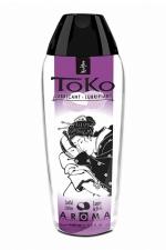 Lubrifiant Toko Aroma - luxure de litchi - Lubrifiant intime à base d'eau, aromatisé luxure de litchi, pouvant être léché, par Shunga, le spécialiste du plaisir intime.