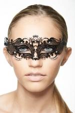 Masque v�nitien Fairy 3 - Masque v�nitien effil� d�cor� de strass, pour exalter votre regard.